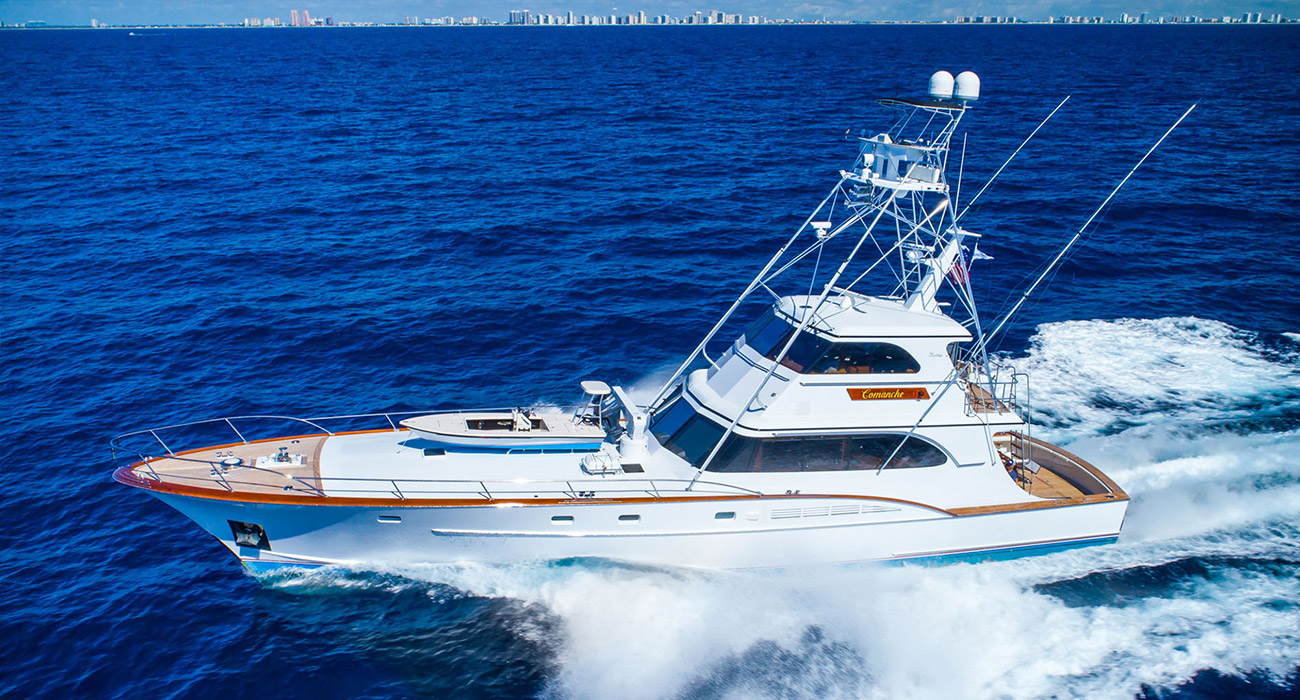 Fishing Boats For Sale >> Sport Fishing Yachts For Sale Gilman Yachts