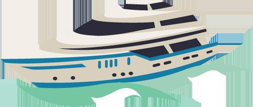 large cruising yacht