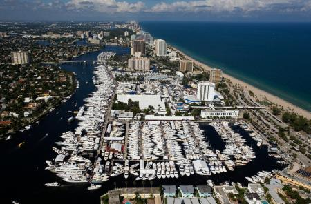 Yachts On Display at the 2016 Fort Lauderdale International Boat Show